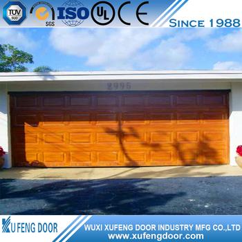 Amerikaanse Stijl 12x12 Overhead Garage Carport Deur Gemaakt In