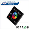 full color smart touch controller, 4 channel rgbw wall controller, wall mounted rgb led touch controller for panel light
