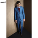 stylish custom made to measure men woolen suit suitable for fashion occasion