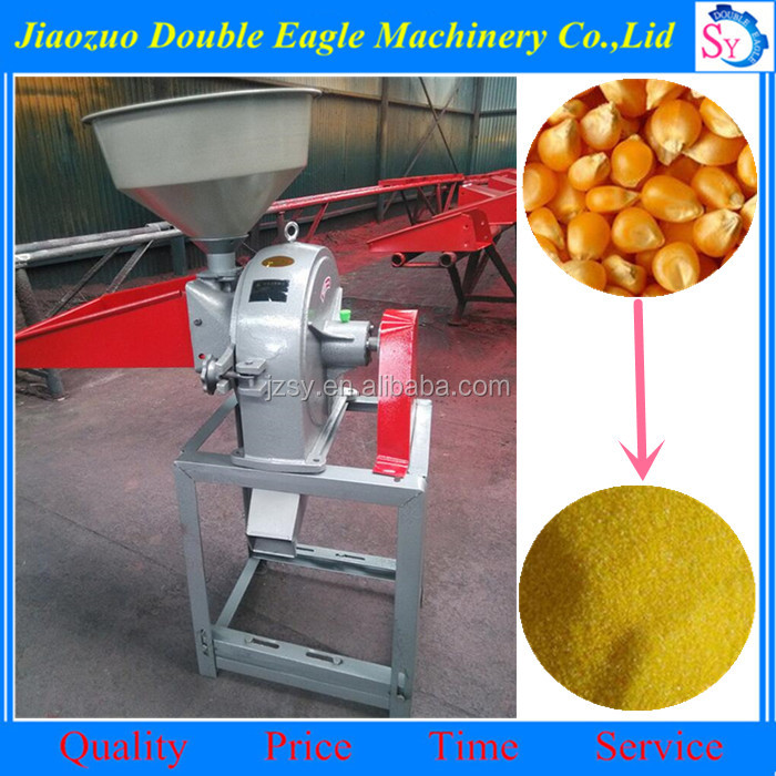 household use small maize seed disk mill machine /industrial grain mill