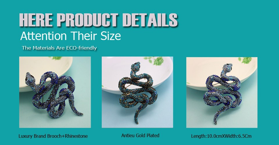 Detail Feedback Questions about Blucome Kawaii Cute Snake Brooches ... 97349ca8e770