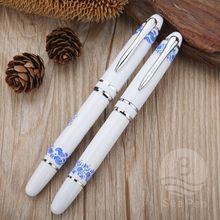 Unique design brand metal barrel luxury roller ball pen for business gift
