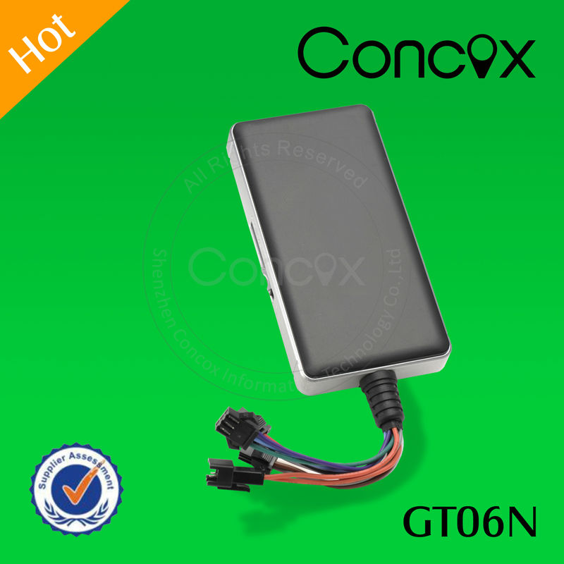 Concox GT06N vehicle gps tracker can control your car by phone&web platform