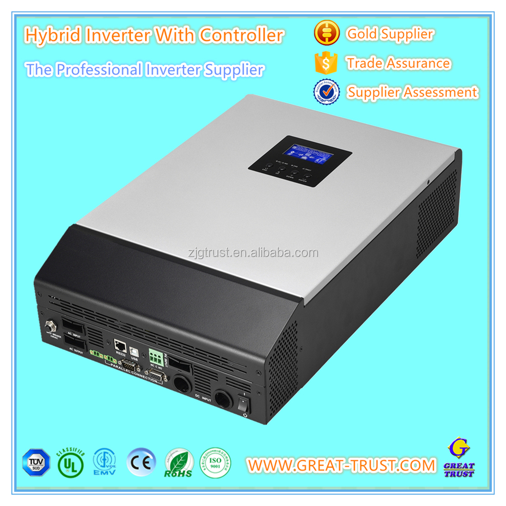 Hybrid solar charge controller MPPT 5kva inverter solar with LCD display