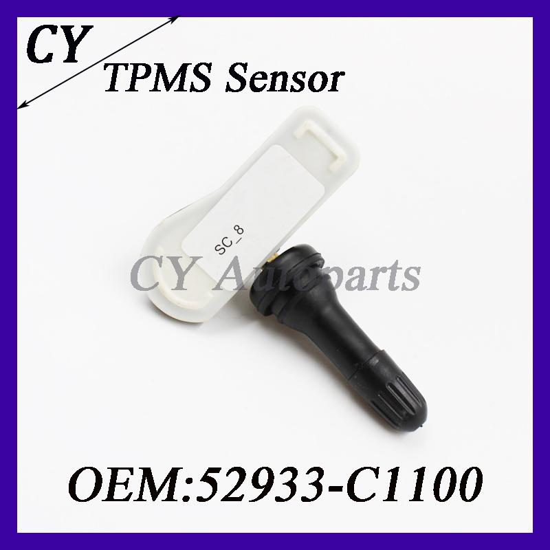 Автоаксессуары давления в шинах система мониторинга для Hyundai Kia TPMS датчик 52933-C1100 433 мГц