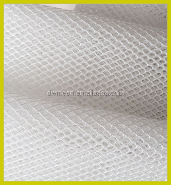 100% polyester air mesh fabric for mattress, 3d spacer mesh