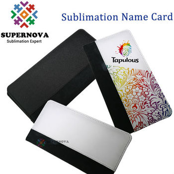 Custom Print Business Card Holdersublimation Name Card Holder Buy