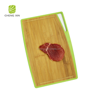 2018 High Quality New Design Safest chef PP and bamboo best kind of cutting board for raw meat