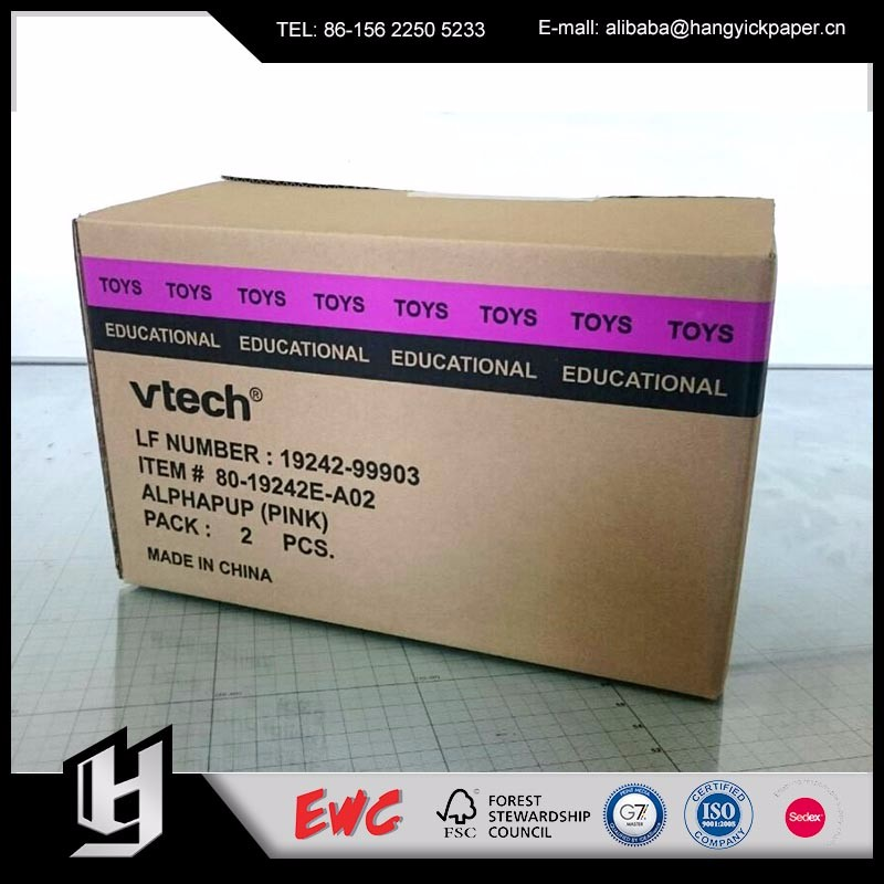 Low price dual channel custom packaging boxes