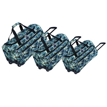 Travel Sport Gym Compeion Gear Duffel Bag Rolling Wheels Prom Party Duffle Kitbag Dance