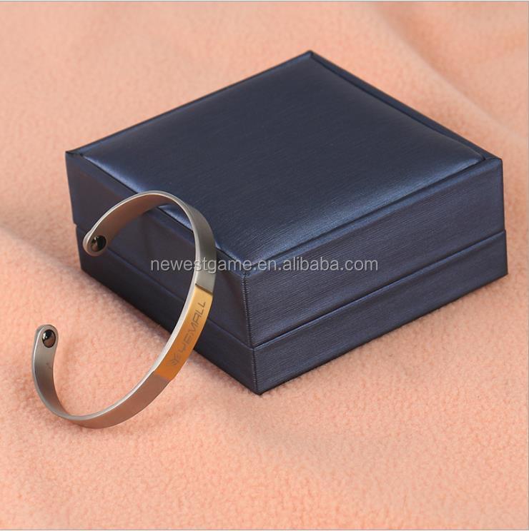Power 6000 Ionics Healthy Titanium Magnetic Well Being Sport Bracelet 18k unisex фото