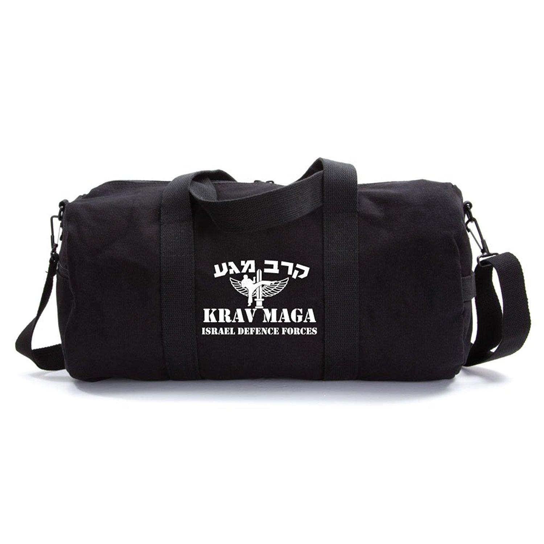 Krav Maga Martial Arts Israel Defence Forces Arts Army Sport Canvas Duffel Bag