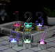 plastic floating light number led birthday candles for party cake