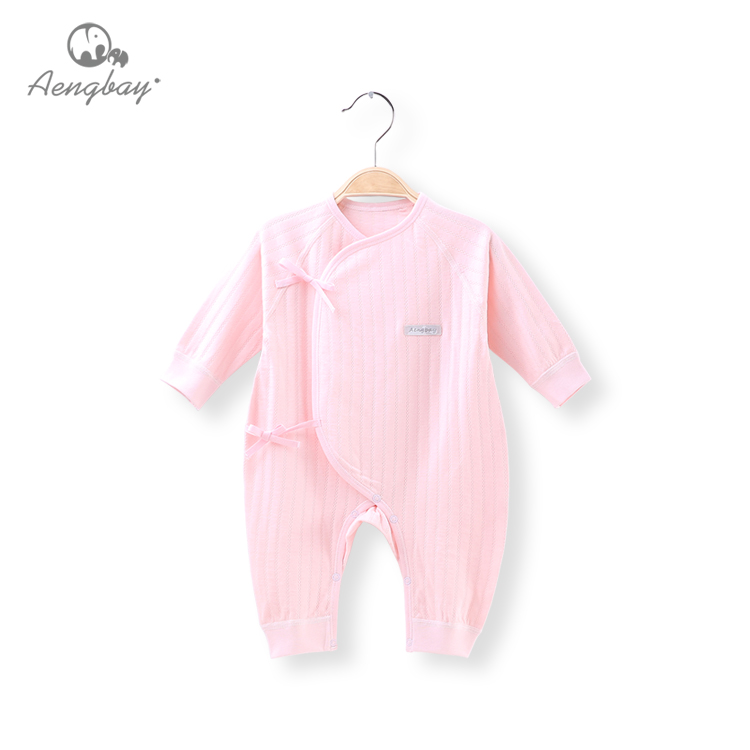 Q003H1 Aengbay High Quality Low Price Newborn Baby Bodysuits Cute Infant Clothes Best Selling Infant Clothing