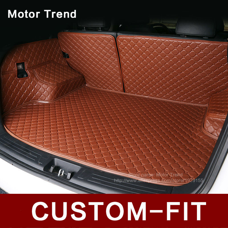 Custom Fit Car Trunk Mat For Cadillac Ats Cts Xts Srx Sls