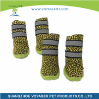 Lovoyager Eco friendly yellow pet shoes with great price