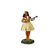 New Fashion Custom Made Resina Cruscotto <span class=keywords><strong>Hula</strong></span> Girl <span class=keywords><strong>Figurine</strong></span>