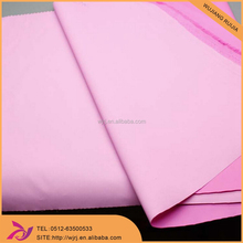 240T polyester waterproof pu milky coated pongee fabric
