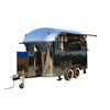 With CE Manufacturer concession trailer mobile food trolley trailer for sale