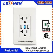 Extension Sockets Usb Wall Plug Multi Outlet American Socket