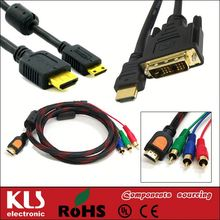 mini hdmi to rca cable UL CE ROHS 15
