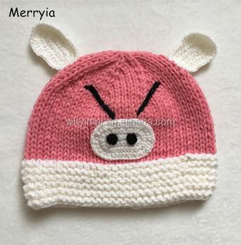 Knit Childrens Hathandmade Animal Shape Cappig Shape Design