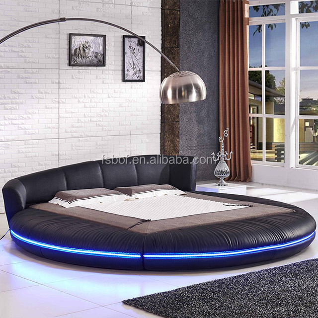 Used Bedroom Furniture Modern Round Bed Designs Rotating Beds A601 Set Multi Purpose Sofa