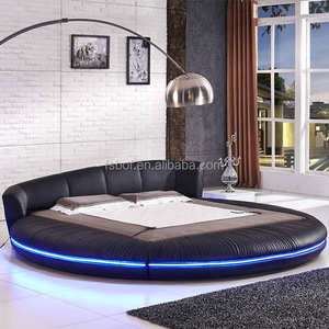cheap used bedroom furniture modern round bed designs rotating beds A601