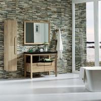 Oak solid wood bathroom cabinet / bathroom vanity /bathroom furniture