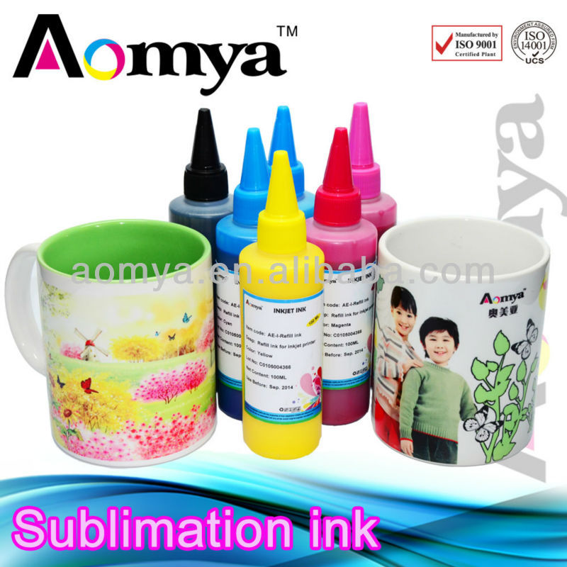 Hot sales!! Korean Premium Digital Dye sublimation ink for cotton fabric,mugs, t-shirts