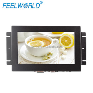 8 inch resistive touch ATM lcd monitor with open frame housing design