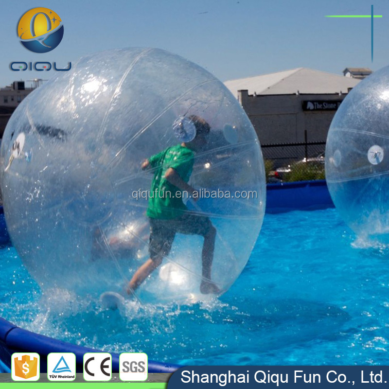 Summer amusement inflatable water park products walking water ball pool for sale
