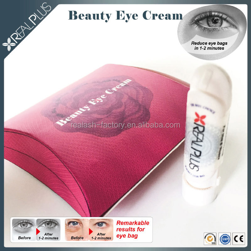 Instant treatment REAL PLUS anti-wrinkle eye cream