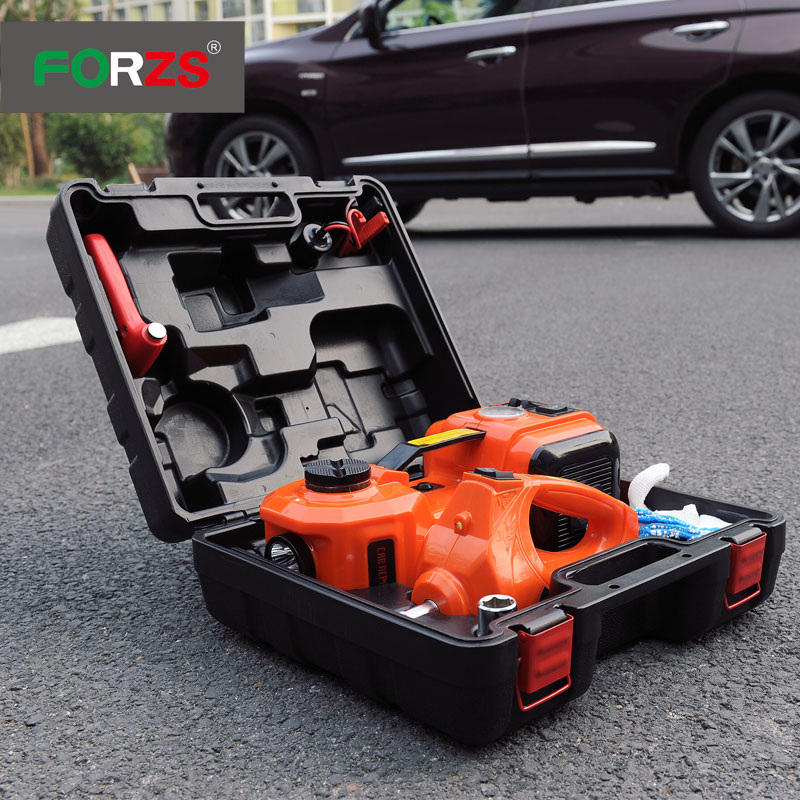 New stlye automatic car jack powerful with impact wrench screw jacks and torque auto use