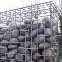 Hot-dipped Galvanized Welded Wire Mesh Gabion Wall