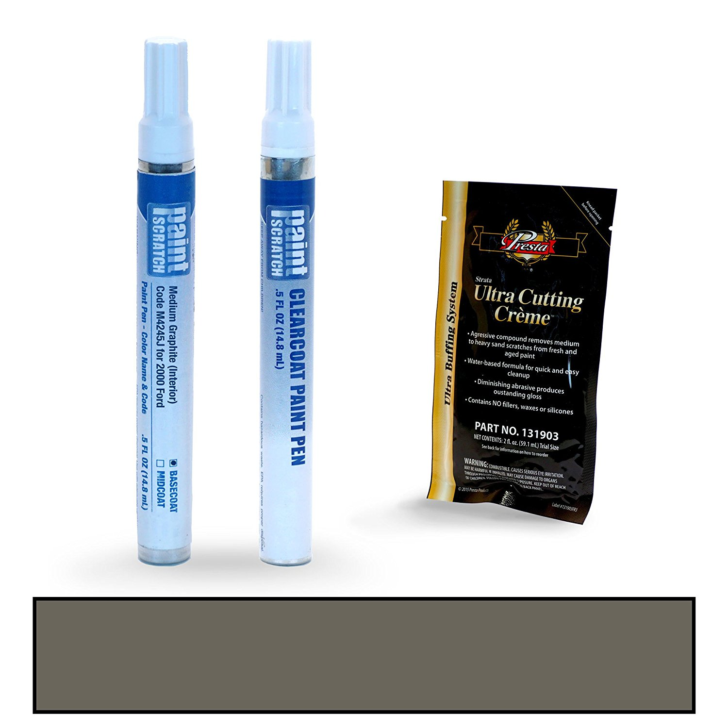 Get Quotations 2000 Ford F Series Medium Graphite Interior M4245j Touch Up Paint Pen Kit