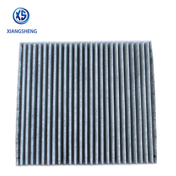 China manufacturer activated carbon car air filter fiber 7803A005 7803A043 for MITSUBISHI OUTLANDER III Van