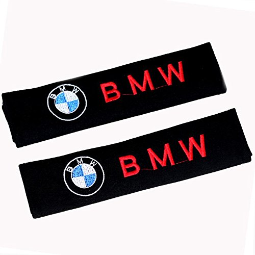 2x soft car seat belt harness cushion cover pads for M SPORT BMW UK stock