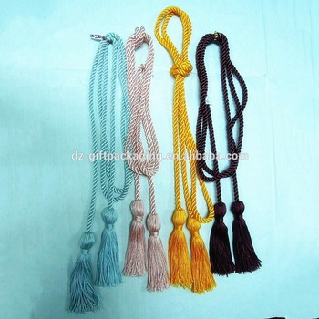 Elegant Curtain Tassel,Curtain Tassel Tiebacks,Tassel With Long Twisted Rope