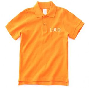 Factory Knitted Team Event Lrcra Wholesale Polo T-Shirts