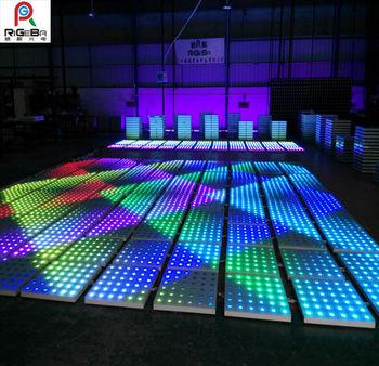 Hot Bar Led Dancing Floor 1m 1m Disco Dance Flooring Led