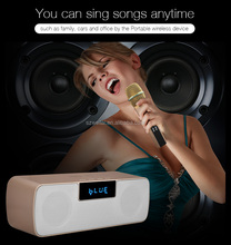 Amazon hot Multifunctional wireless microphone combination of bluetooth speakers