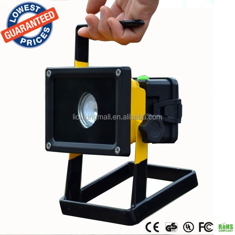 F02 30W Portable Rechargeable LED Flood light Spot Work Light XML L2 3mode power bank function outdoor lamp