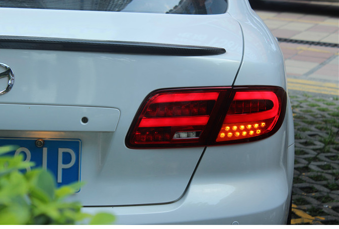 New arrival OEM WANHAO Hight Bright 12V CCC Certification modified LED DRL taillight for Mazda 6