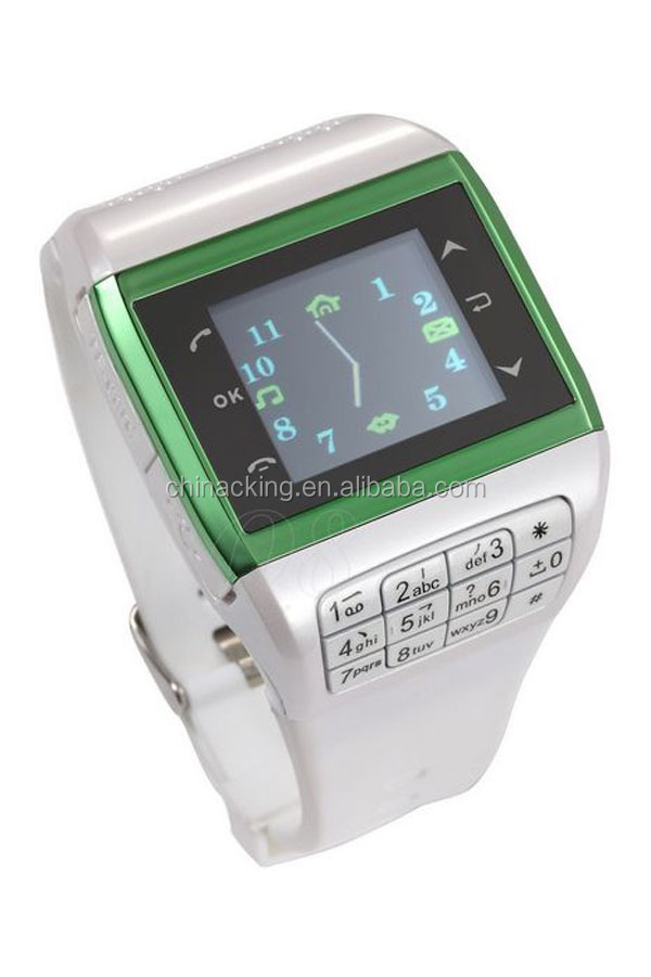 < 3MP Camera and Color Display Color watch phone EG200