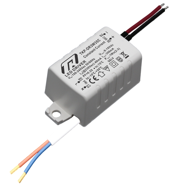 CE Rohs constant current 350mA 3x1W LED driver