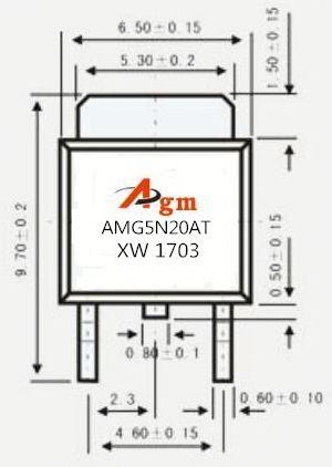Transistor P55nf06 Std30nf03lt4 Std17nf03lt4