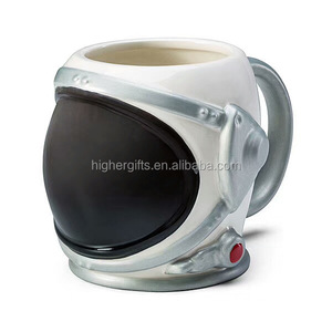 Astronaut Ceramic Mug Space Topic Coffee Mug