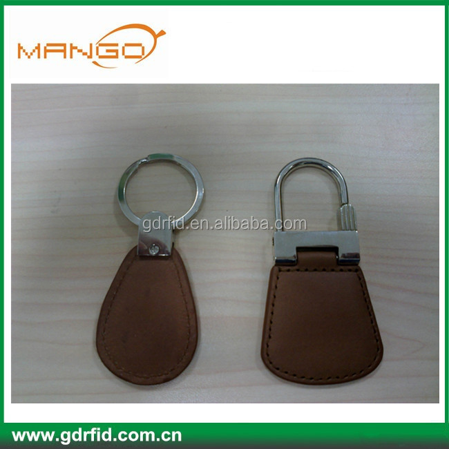 125KHz LF TK28 Leather key ring for identification&car parking