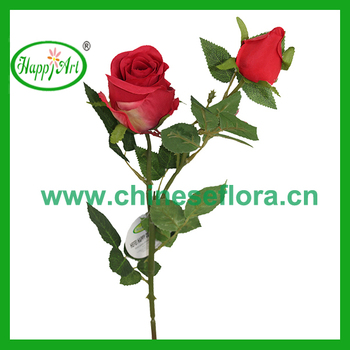 276 2 branch rose flower silk vision flowers wholesale buy silk 276quot 2 branch rose flower silk vision flowers wholesale mightylinksfo